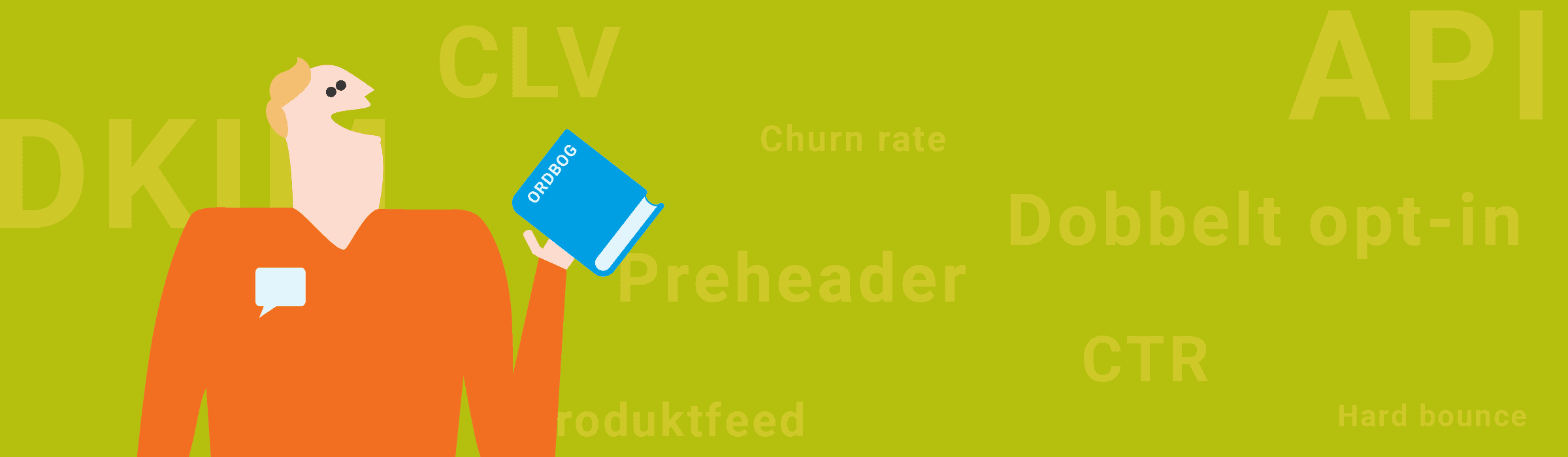 e-mail marketing ordbog